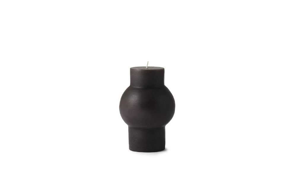 Block Candle Dome - Parterre Brown